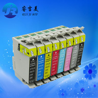 High Quality T0341 T0348 ink cartridge for Epson Stylus Photo 2200 2100 Printer ( a set with chip )