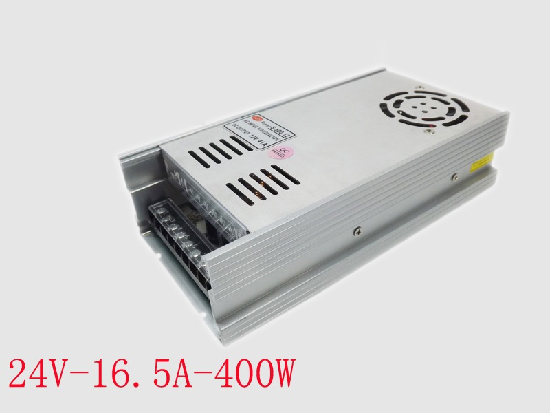 24V 15A 360W Switching Power Supply Driver for LED Strip AC 100-240V Input to DC 24V