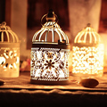 New arrival Decorative Moroccan Lantern Votive Candle Holder Hanging Lantern Vintage Candlesticks Home Lighting Decoration