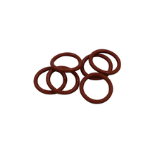 Red Silicon Rubber 1.5mm Thickness O Rings Seals Washer 5-40mm Outside Diameter VMQ Shaped Gaskets