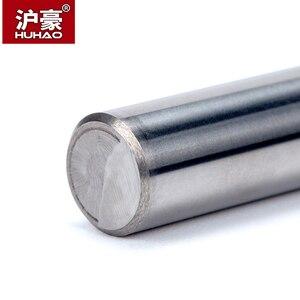 Image 5 - HUHAO 1 ud. Fresa de achaflanado recto de carburo de tungsteno 60 /90 /120 grados herramienta CNC para grabado
