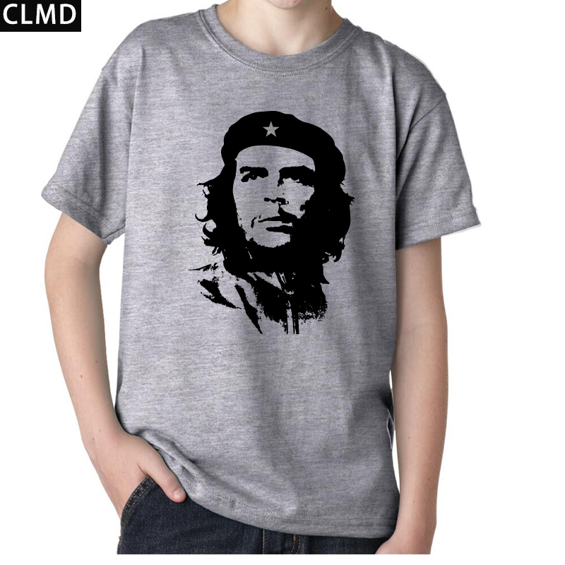 Top quality short sleeve sleeve che guevara print men for Best quality shirts to print on