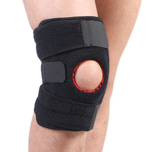 Knee Brace Support Adjustable Stabilizer with Open Patella, Compression Knee Brace for Meniscus Tear, Powerlifting, Arthritis