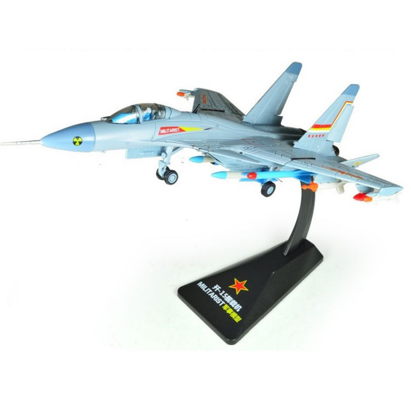 Alloy Die-cast Toy Helicopter Airplane Military Chinese J-15 Aircraft Model 1:72 Collection Toys 1 72 europe tiger helicopter model alloy aircraft model assembly finished high grade gift collection