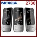 2730 Оригинальный телефон Nokia 2730 Дешевые телефоны Разблокирована GSM WCDMA с Русской клавиатурой Бесплатная доставка