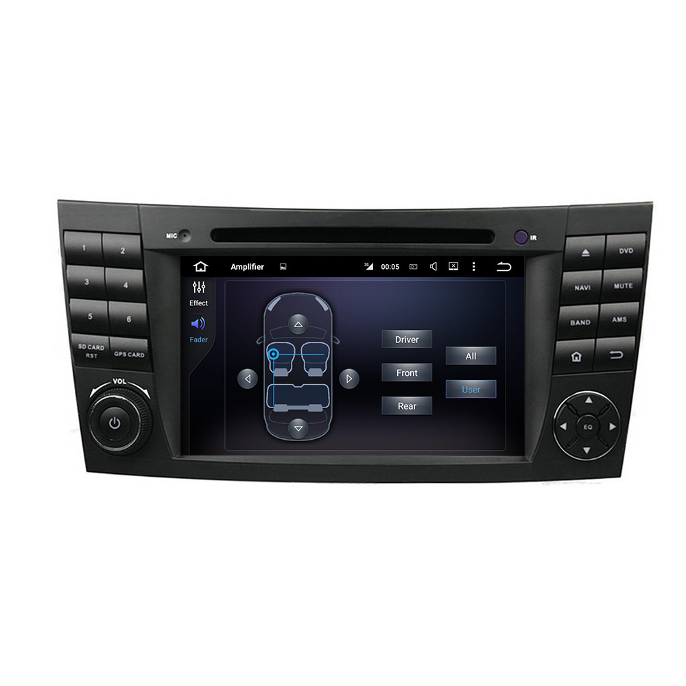 2 DIN GPS навигации Сенсорный экран MP3 Bluetooth Android 5.1 dvd мультимедиа видео плеер для Benz E-Class W211 /W463 CLS W219