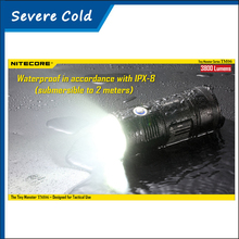 Nitecore TM06 CREE XM-L2 U2 LED 3800lumens 334 Meters Distance Torch Power by 18650 Battery LED Flashlight