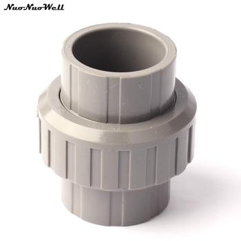 Wewnętrzna średnica 32mm PVC łącznik jednopunktowy z tworzywa sztucznego rura wodociągowa okucia wysokiej jakości łatwa instalacja odpinany narzędzia do nawadniania tanie i dobre opinie Ogród wodny złącza NuoNuoWell WJ NNW-MS052 Standardowe złącza gray