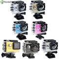 """A7 2.0 """"LCD Câmera de Ação HD 720 P Esporte Camera 90 Graus Lente Grande Angular À Prova D' Água DV Mini Câmera de Vídeo Para Esportes Radicais mergulho"""