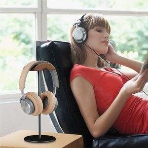 Image 5 - JINSERTA Soporte Universal para auriculares, colgador de madera y aluminio para escritorio