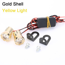 цена на 2pcs White Yellow Blue DC 12V Motorcycle Eagle Eye LED Light High Power 15W 22MM Daytime Running DRL Backup Light Car Auto Lamp