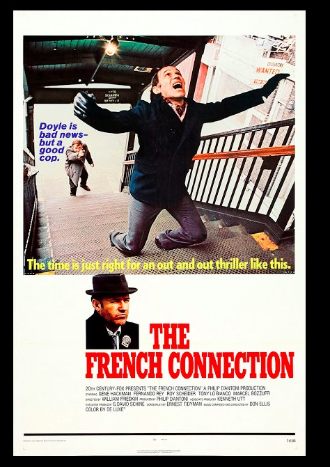 The French Connection (1971) Classic Movie Neo Noir Film Retro Vintage  Poster Canvas Painting DIY Wall Paper Home Decor Gift|vintage poster|poster  vintageposter retro vintage - AliExpress
