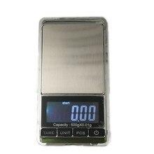 Электронные карманные мини-весы с ЖК-дисплеем, 500 г x 0,01 г