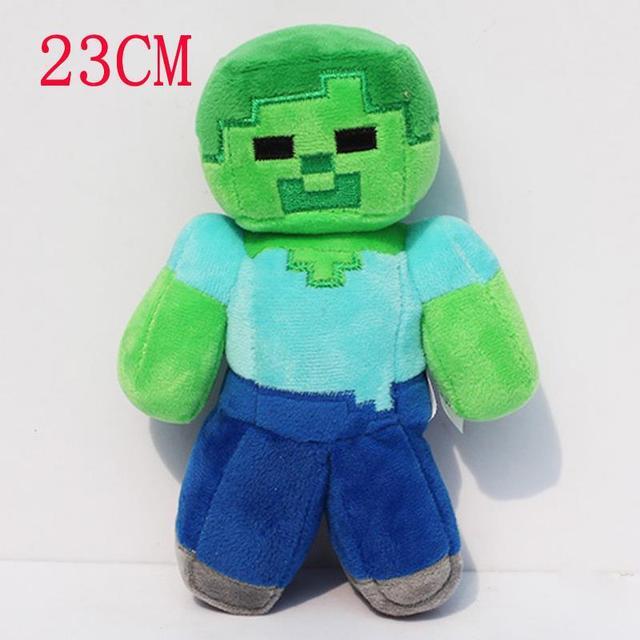 Cm Minecraft Plüschtiere MC Steve Zombie Plüsch Stofftier Puppe - Minecraft spiele fur kinder