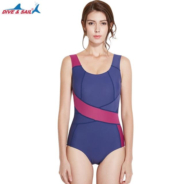 cc3f6f5c5e13d4 Women's One Piece Sports Swimwear Padded Swimsuits Bathing Suits Athletic  Training Swimsuit Girls Youth UV UPF 50+ Girls Boyleg