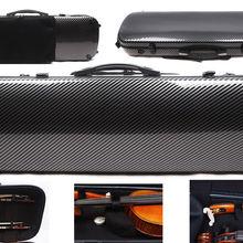 4/4 чехол для скрипки смешанный из углеродного волокна Жесткий Чехол светильник 2,1 кг сумка для музыкального листа