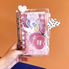 DIY 노트 빙빙 클라우드 윙 플레너 카와이 저널 소녀의 일기 주최자 학생 일일 주간 계획 문구 선물