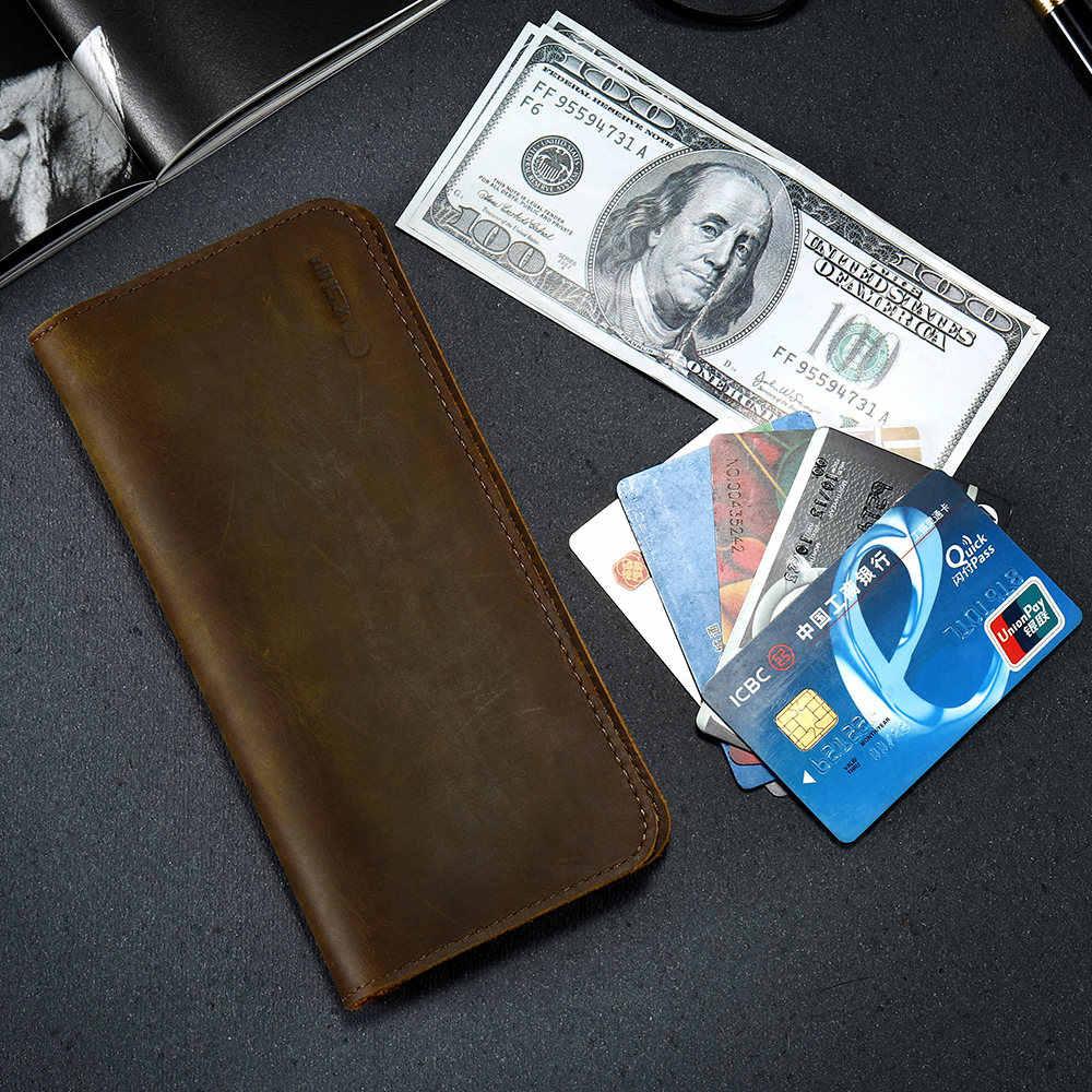 CASESHIP Echtem Leder Brieftasche Fall Für iPhone 7 8 X Wallet Card Slots Luxus Handy Tasche Beutel Für iPhone 7 8 6 S Plus Fällen
