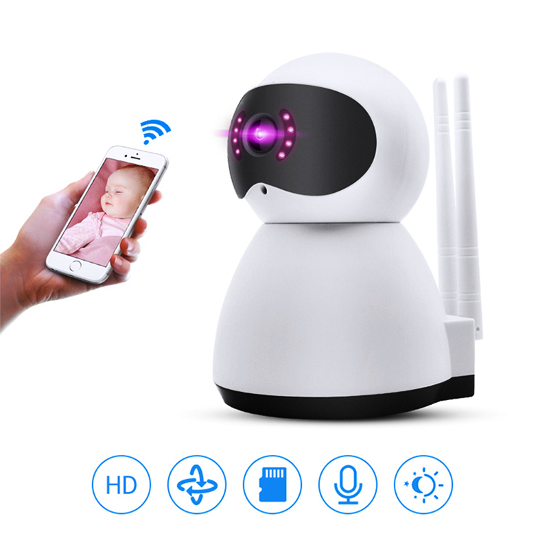 Home Security 720P 1080P Wifi IP Camera Two Way Audio Support 128G TF Card HD CCTV Surveillance Wireless Camera Baby Monitor|Surveillance Cameras| |  - title=