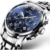 Original KINYUED Men S Mechanical Men S Watches Brand De Luxe Complete Waterproof Steel 100 M