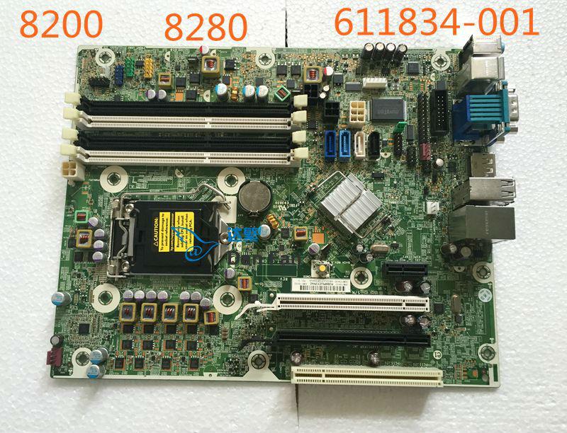611834-001 HP Compaq 8200 8280 Masaüstü Anakart 611793-002 611794-000 LGA1155 Anakart 100% test tamamen çalışır