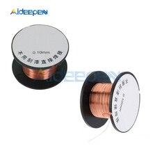 1 шт. 0,1 мм 10 м медный провод для пайки соединительный провод для мобильного телефона компьютера PCB сварочный инструмент для ремонта, аксессуары
