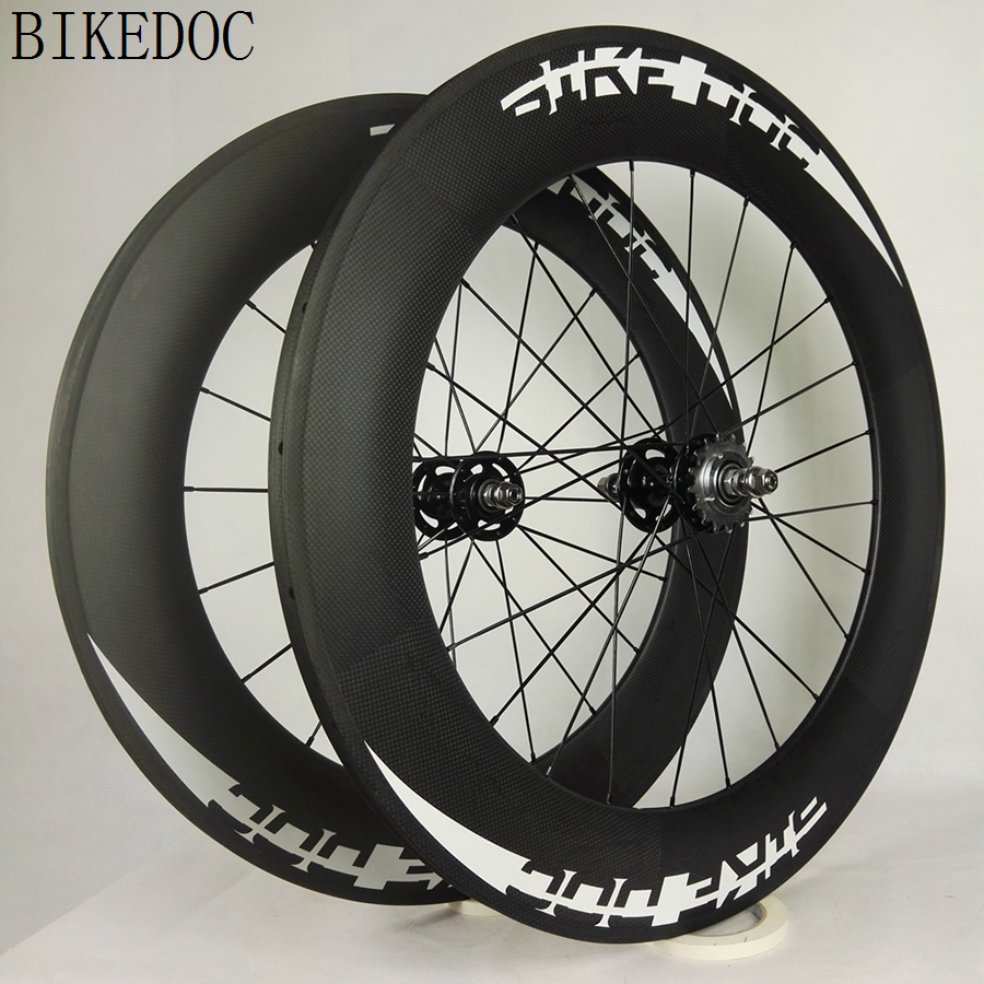 BIKEDOC 700C Carbon Dreht 88mm Festrad Rohr 3 Karat Carbon ...