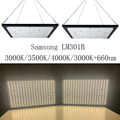 Dimbare 120 W 240 W Quantum Board Led Grow Light Volledige Spectrum Samsung LM301B SK 3000 K 3500 K 4000 K 660nm Meanwell Driver