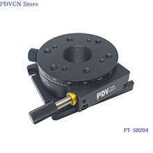 PT SD204 R AxisManual Rotation Stage, Manual Rotary Stage,Rotating Platform Dia 73mm  rotation stage