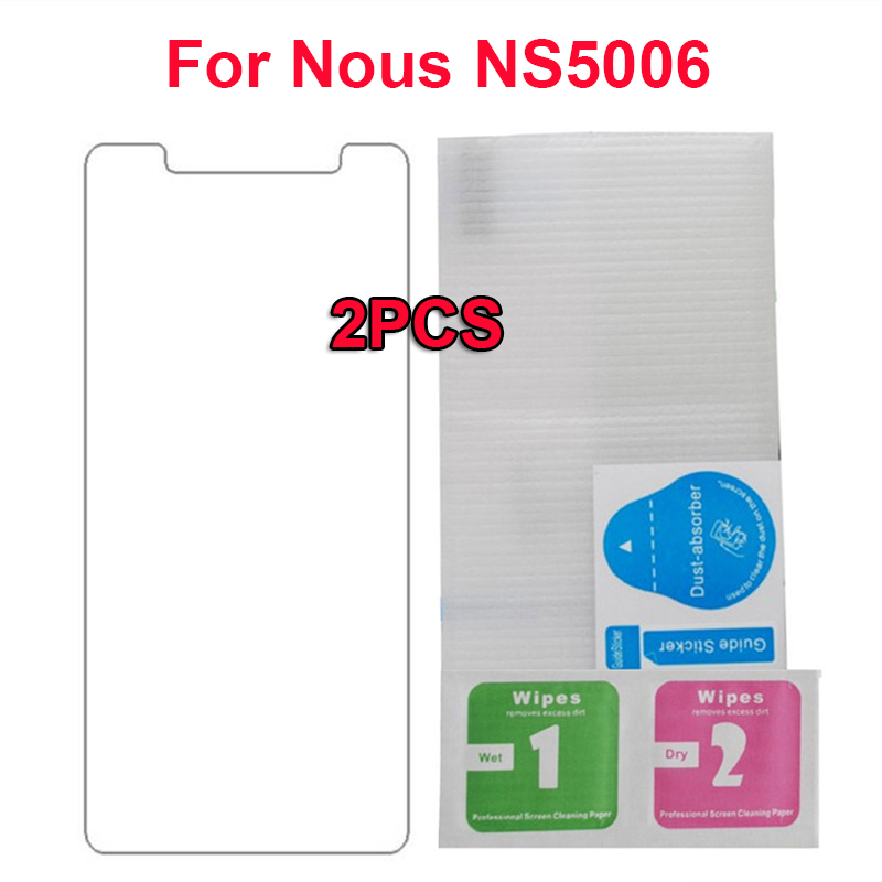 2PCS Screen Protector For for <font><b>Nous</b></font> <font><b>NS5006</b></font> Explosion-proof Tempered Glass Film for <font><b>Nous</b></font> NS 5006 <font><b>NS5006</b></font> Case Mobile Phone Glass image