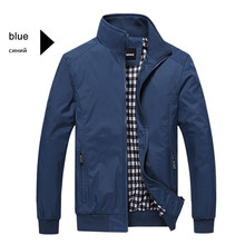 Mens Jacket Casual Business Solid Coats Baseball Uniform Brand Clothing Fashion Motion Male Zipper Outerwear