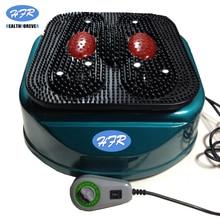 HFR-8805-1 бренд healthforever пульт дистанционного управления вибрационное устройство ноги полный корпус Электрический ножной массаж для кровообращения машина