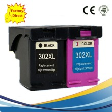 2PK HP302 XL Ink Cartridge for HP302XL 302 For HP DeskJet 1110 2130 Envy 4520 NS45 Officejet 3630 3830 4650