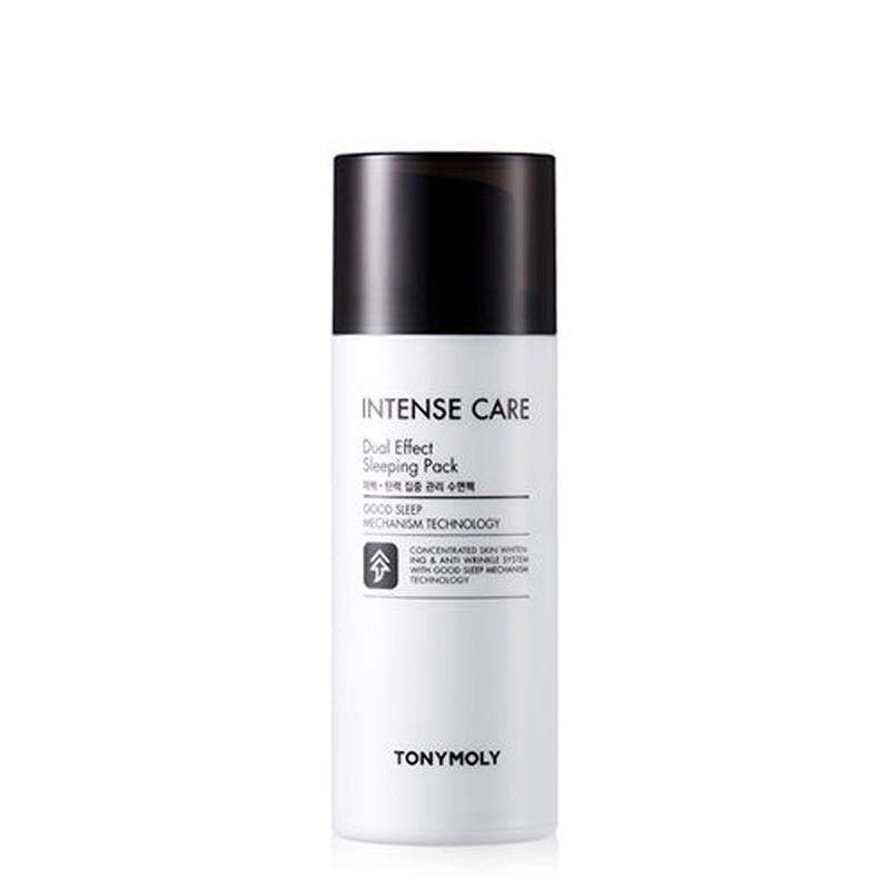 Korea Cosmetics Intense Care Dual Effect Sleeping Pack 100ml Skin Care Face Mask Whitening moisturizing Sleep Facial Mask