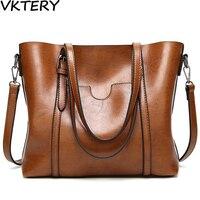 2017 Women Handbag Designer Bags Logo Handbag Women S Fashion PU Oil Wax Leather Pocket Violin