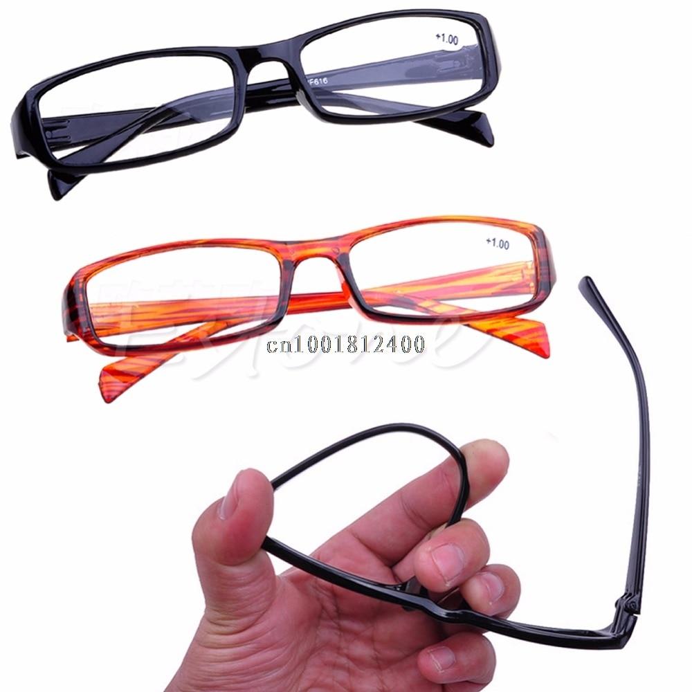 1pc Reading Glasses New Resin Reading Presbyopia Glasses +1.00 1.50 2.00 2.50 3.00 3.50 4.00 Diopter