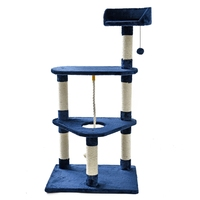Cat Furniture Climbing Frame Cat Scratching Post Playing For Fun Pet Training Climbing With Ball Sisal Fabric Pet Supplier
