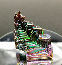 48g Beautiful Bismuth Crystals Bismuth Metal crystal Stones and crystals from china Free shipping(China)
