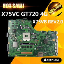 SAMXINNO for ASUS X75VC motherboard X75VB REV2.0 Mainboard Graphic GT720 4G N14M-GE-S-A2 Memory On Board 100% tested