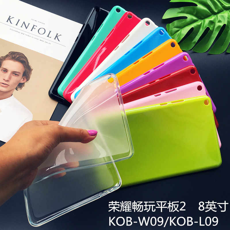 T3 8.0 case for Huawei MediaPad T3 8.0 KOB-L09 KOB-W09 tablet case clear soft Silicone TPU Back Cover case
