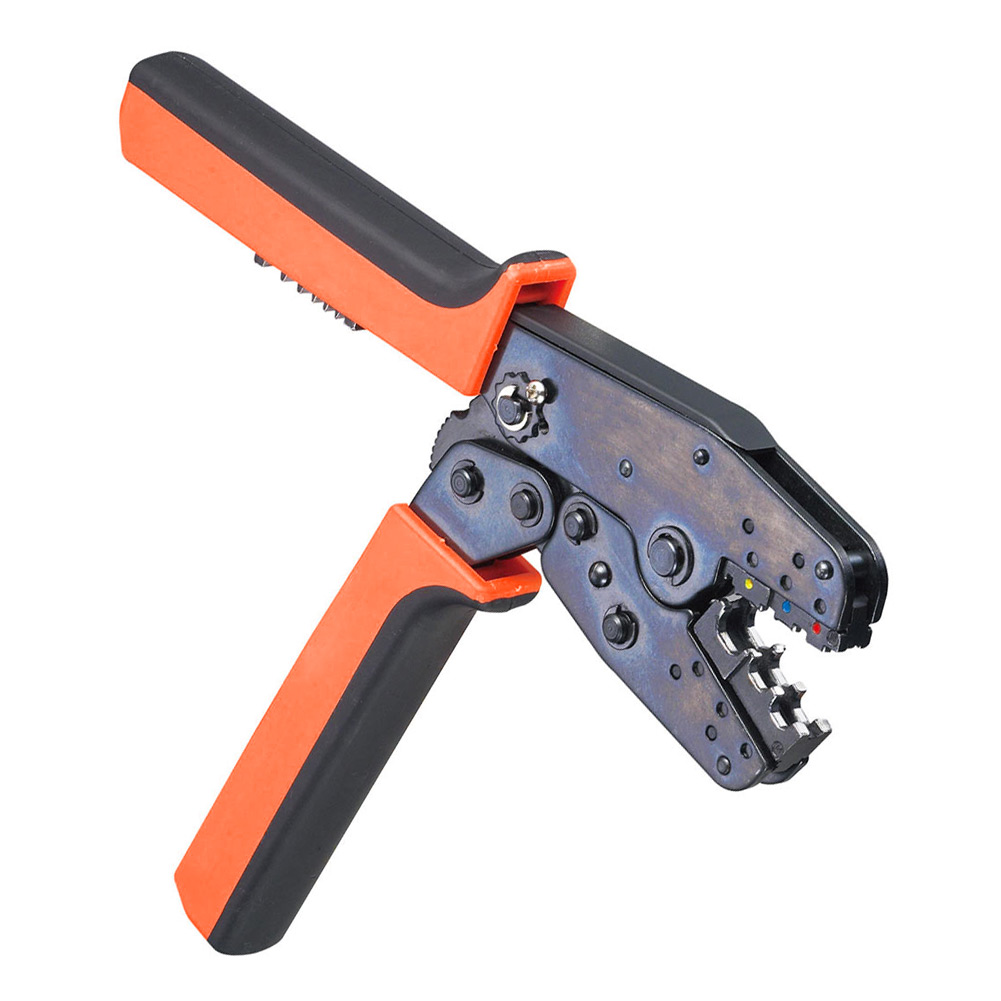 цены  LAS-005 Insulated and Non-terminals Ratchet Crimping Plier Energy Saving Crimping Tools 0.5-10 mm Multi Tool Tools Hands  ALI88