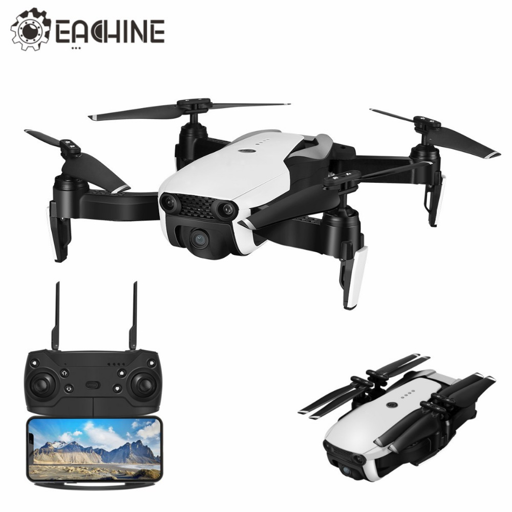 Upgraded E58 - Eachine E511 WIFI FPV 1080P / 720P HD Camera Headless Mode 16Mins Flight Time Foldable RC Drone Quadcopter eachine e511 rc drone wifi fpv 1080p 720p hd camera headless mode 16mins foldable racing quadcopter vs mavic air drone e58
