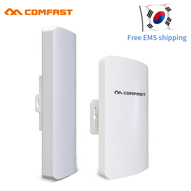 Image 2 - 2Pcs 1 3km Long Range 5.8Ghz 300Mbps Wireless Outdoor CPE Wifi Bridge Wireless Router 11dBi Antenna  Ip cam Nanostation-in Wireless Routers from Computer & Office
