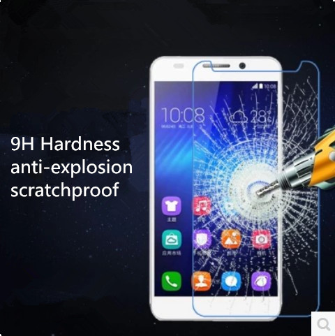 2.5D 0.25mm 9H Nano-coated Anti-explosion Tempered Glass Screen Protector for Ulefone Power Glass Hard Film 5.5 +Tools