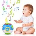 Niños educativos de aprendizaje y educación toys multifuncional instrumento musical de dibujos animados de impresión bola de luz para los niños toys