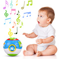 kids Learning & Education Toys Multifunctional Cartoon Print Musical Instrument  Educational Ball With Light for Children Toys