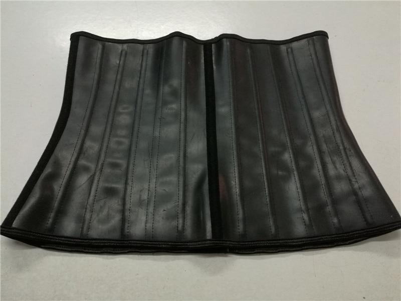 25steel bone latex waist trainer 11