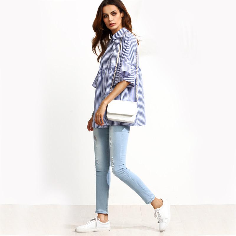 617367e4c53 Dotfashion Korean Ladies Blouse Designer Shirts for Women Top Brand ...
