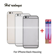 Full Housing For iPhone 5s se 6 6S Door Cover Case Middle Frame Chassis Body iphone Plus housing body Free IMEI
