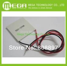 O envio gratuito de 10 pçs/lote TEC1 12706 12 v 6A TEC Thermoelectric Cooler Peltier, atacado tec1-12706